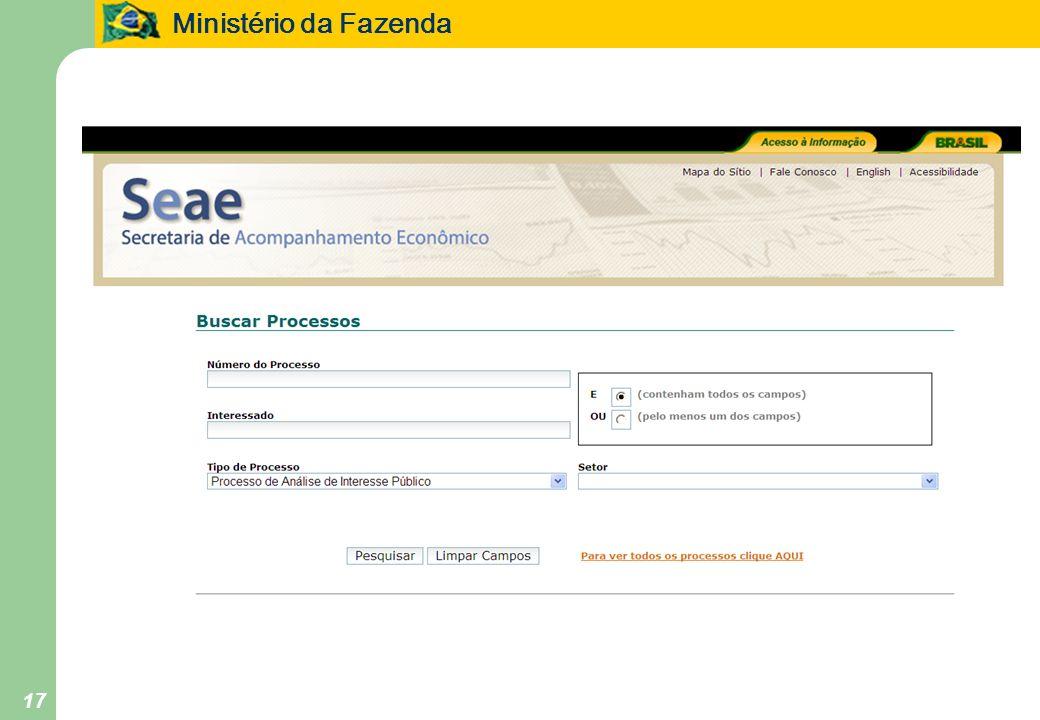 Ministério da Fazenda 17