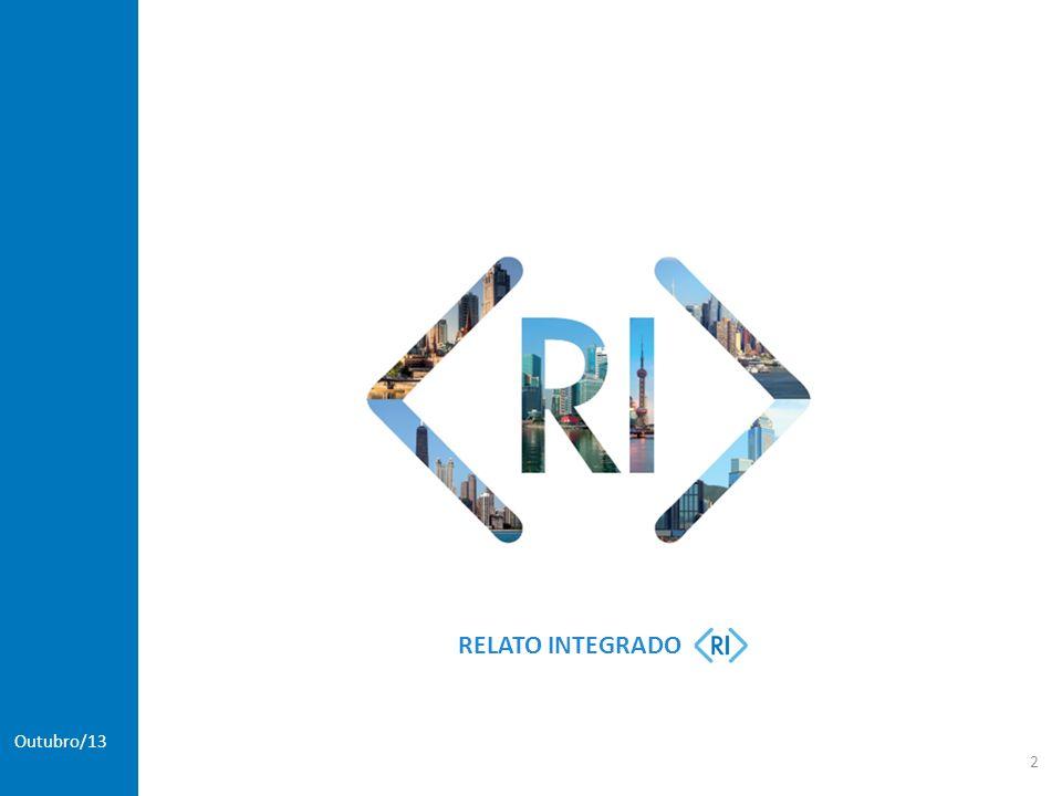 International Integrated Reporting Council - IIRC >Em 2010, foi criada uma plataforma que promove a criação do conceito de relatos integrados de forma mais abrangente (IIRC).