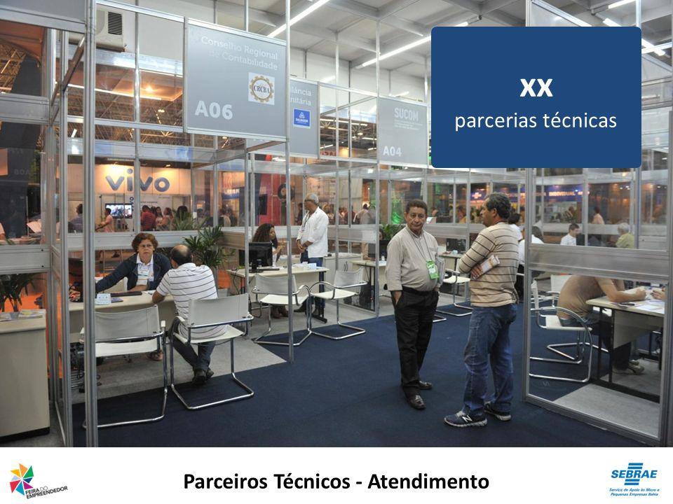 Parceiros Técnicos - Atendimento xx parcerias técnicas
