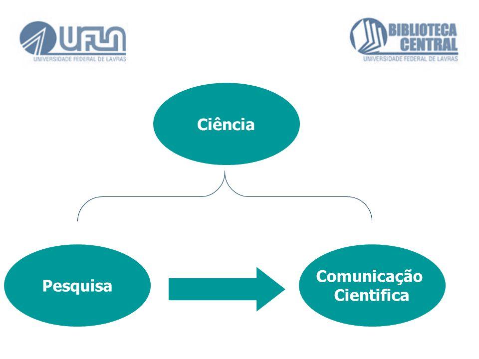 Pesquisa Comunicação Cientifica Ciência