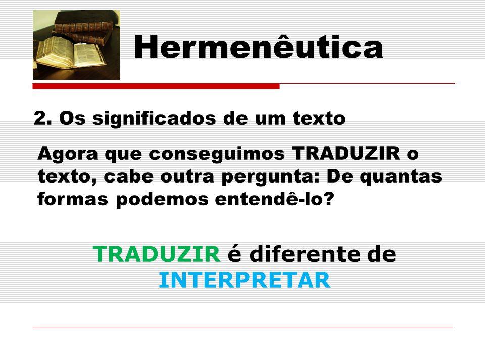 Hermenêutica 2.