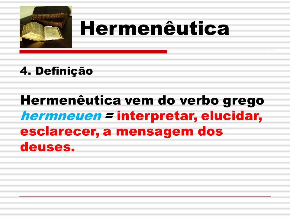 Hermenêutica 4.