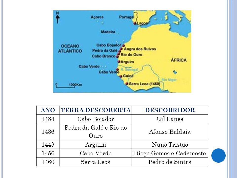 Quais eram os produtos que os europeus traziam da costa ocidental africana.