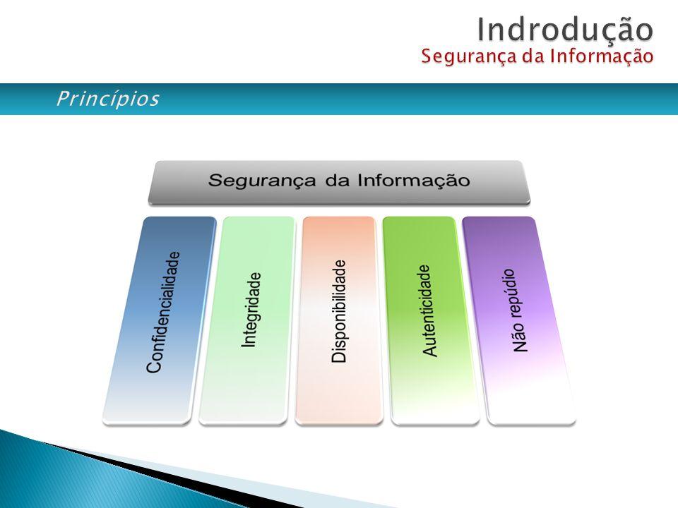 Confidencialidade: Apenas pessoas explicitamente autorizadas tem acesso a informação.