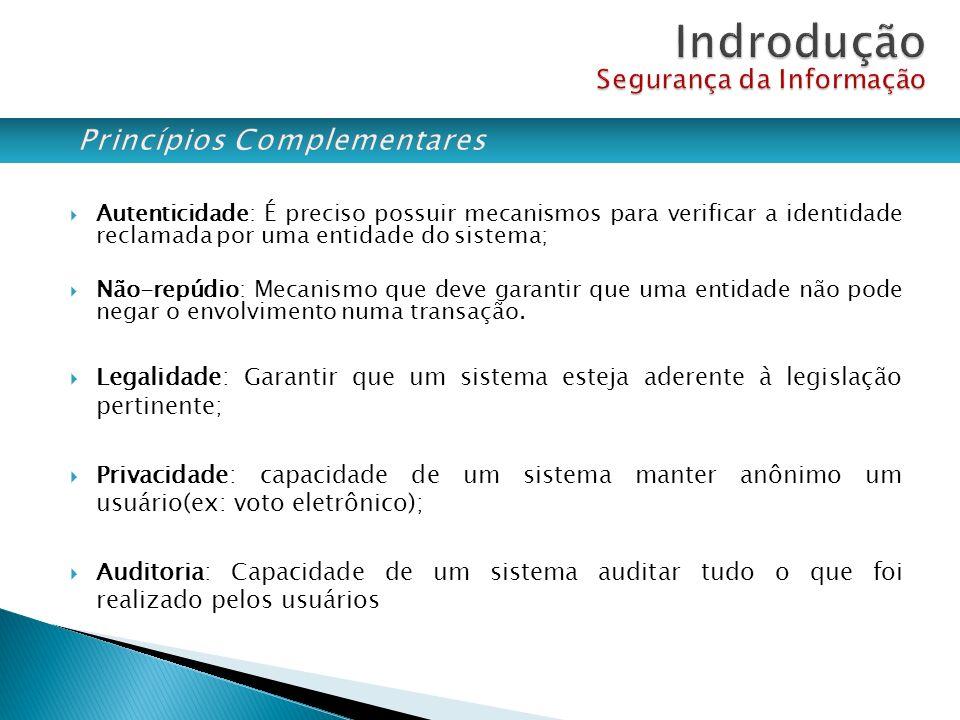 ESTRATÉGICO: GOVERNANÇA, NORMAS, (COBIT, ITIL, GRC) TÁTICO: POLÍTICAS DE SEGURANÇA, MAPEAMENTO DE RISCOS, PLANOS DE CONTINGÊNCIAS OPERACIONAL: FERRAMENTAS, CERTIFICADOS, CRIPTOGRAFIA Definições Ações