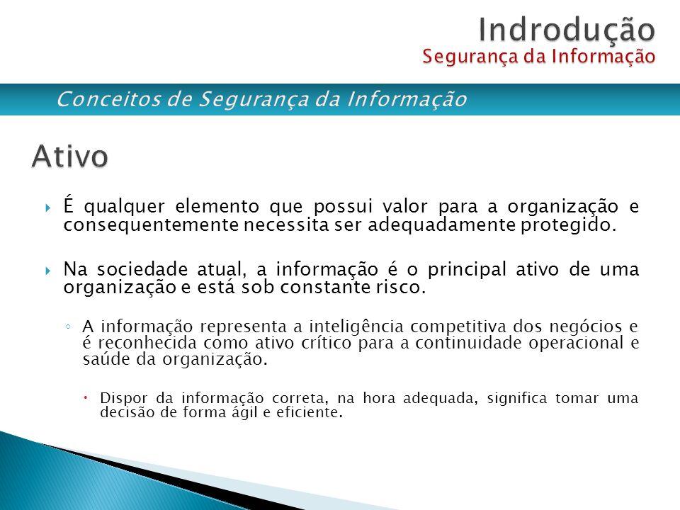 Em segurança da informação, um incidente é qualquer acontecimento que prejudique o andamento normal dos sistemas e/ou do negócio.