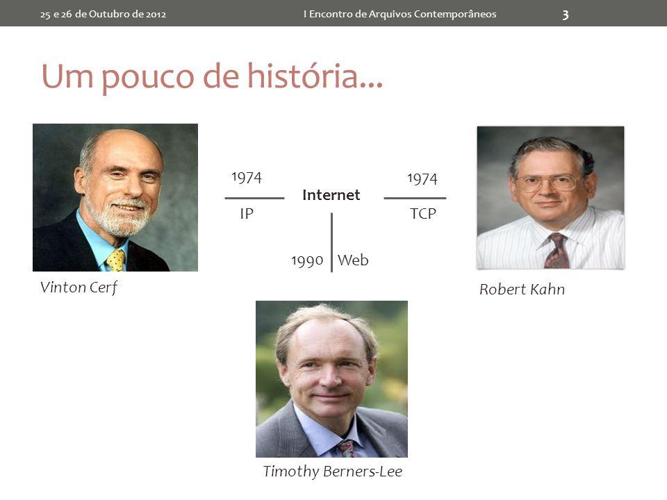 Outros Projetos 25 e 26 de Outubro de 2012I Encontro de Arquivos Contemporâneos 44