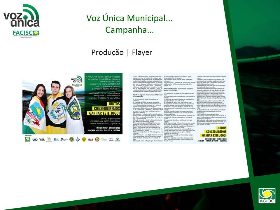 Tema: Futebol Conceito: Você elegeu seu candidato e agora chegou a hora de acompanhar as administrações públicas de Joaçaba, Herval DOeste e Luzerna.