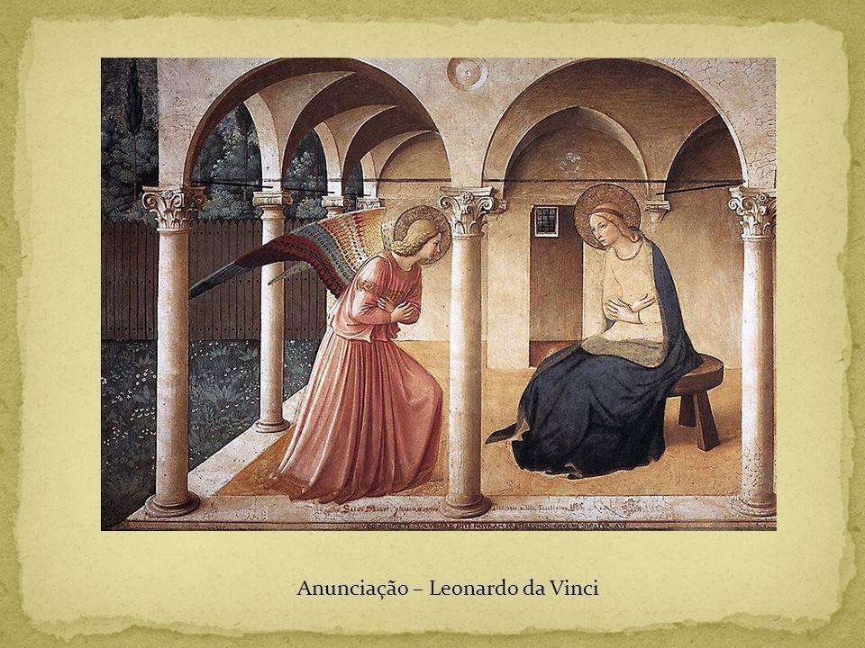 Anunciação – Leonardo da Vinci