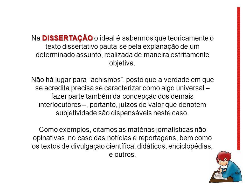 DISSERTAR É ARGUMENTAR!!.