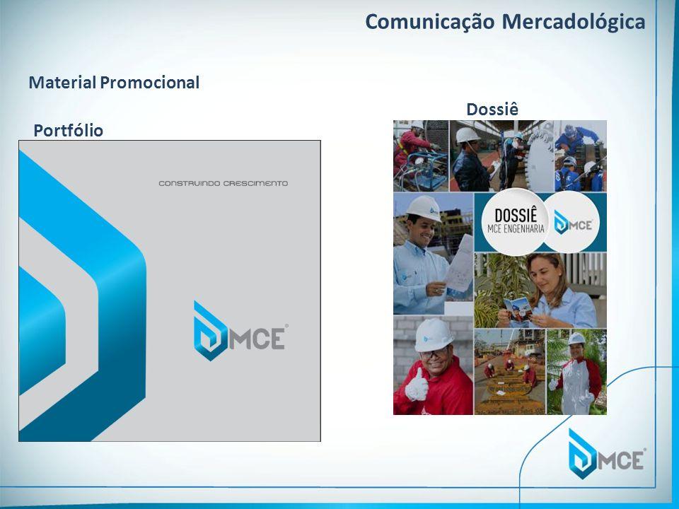 Comunicação Mercadológica Portfólio Dossiê Material Promocional