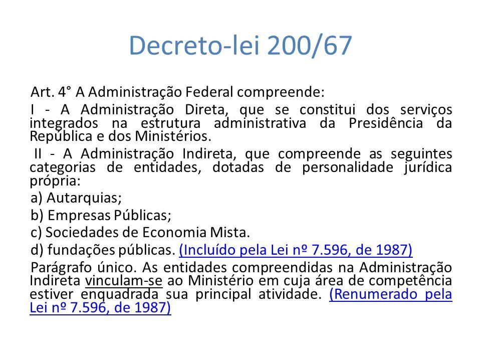 Decreto-lei 200/67 Art.