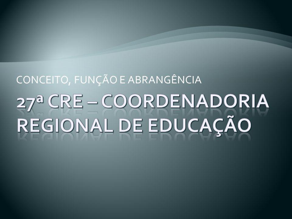 A 27ª CRE está situada, atualmente, na Av. Inconfidência, n° 420, na cidade de Canoas.