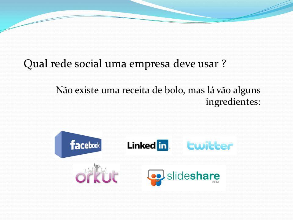 Qual rede social uma empresa deve usar .