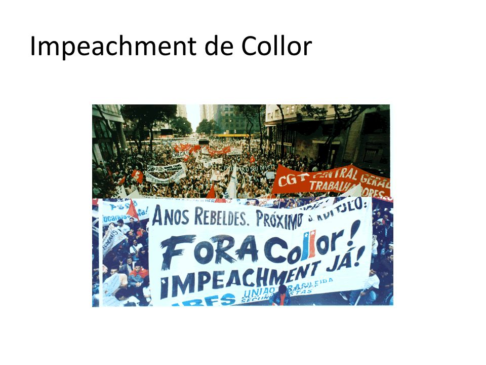 Impeachment de Collor