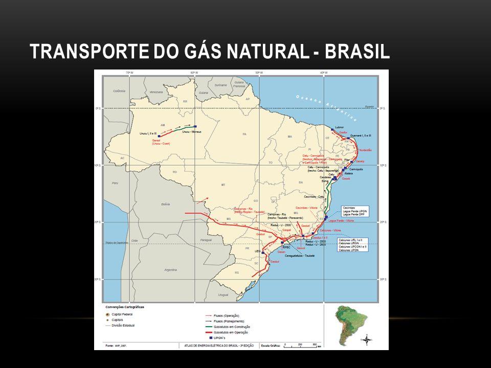Europa e Japão: baseado nos preços dos derivados que competem com o gás.