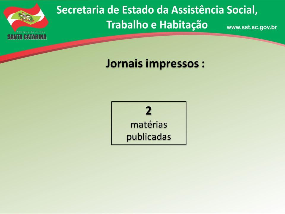 Sites : 38 matérias publicadas 38 matérias publicadas