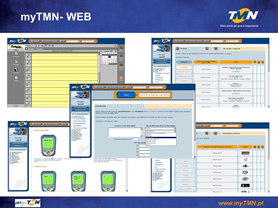 www.myTMN.pt myTMN- WEB