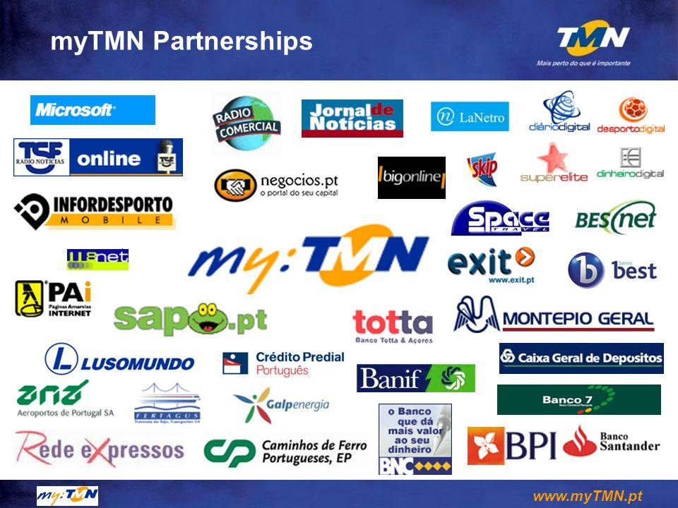 www.myTMN.pt myTMN Partnerships