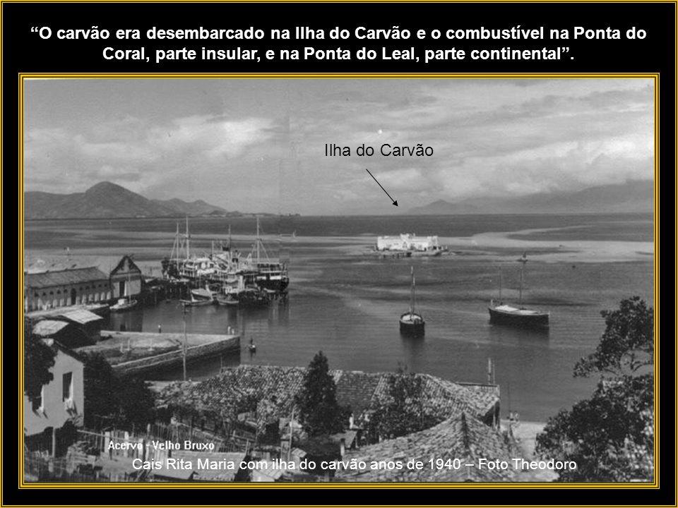 O Porto era essencialmente importador de carga geral, ferramentas, máquinas, combustível e alimentos para o abastecimento da capital e das vilas próxi