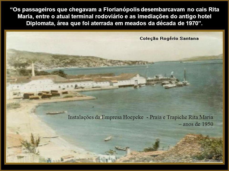 Os navios da empresa abriram o Estado para a navegação de passageiros em rotas regulares, interligando os portos de Laguna, Florianópolis, Itajaí e Sã