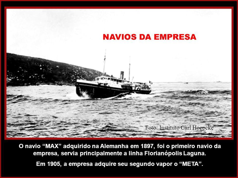 Praia de Fora, atual beira mar norte anos 1950 Quando o vento Sul soprava muito forte o embarque e desembarque eram feitos na baía Norte, mais ou meno