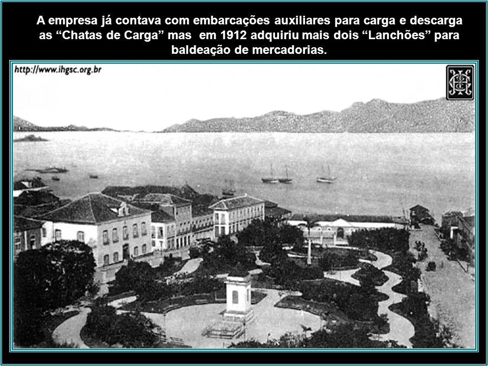 Muitos serviços prestou na costa junto a Ilha de Santa Catarina, participando de salvamento de navios e resgate de náufragos. Em caso de tempestades o