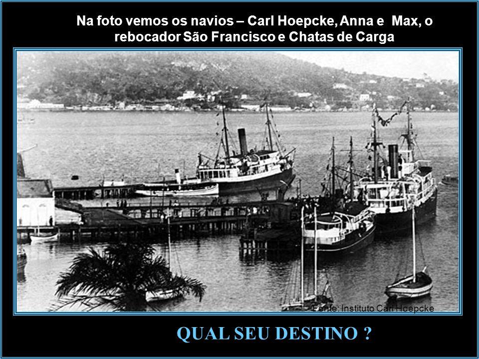Cais Rita Maria - anos de 1950Foto Theodoro Em 1964, o porto de Florianópolis, que desde os anos de 1500 recebia navegadores e que foi um dos principa