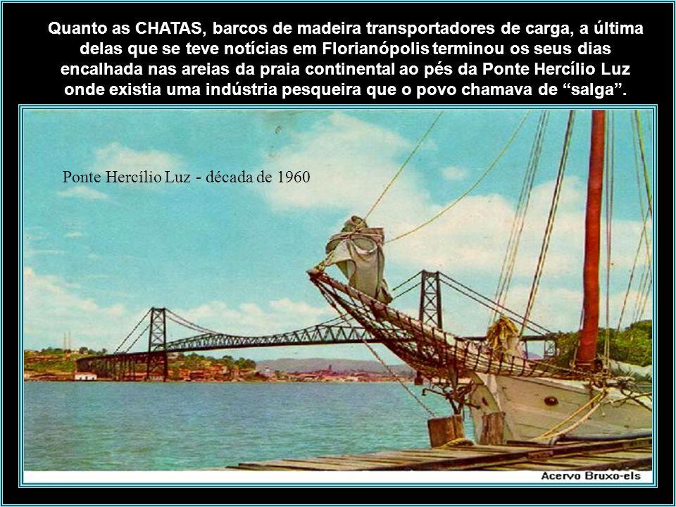 Foto: Instituto Carl Hoepcke O REBOCADOR SÃO FRANCISCO foi vendido para José Paulo, conhecido como Zé Paraíba, que trabalhava de prático no porto de I