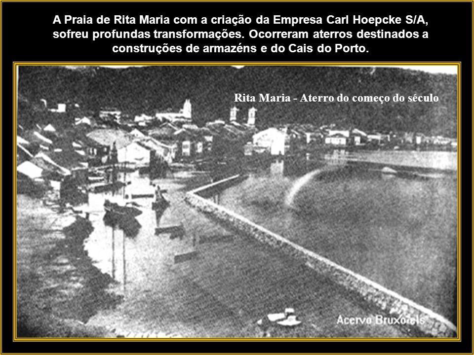 Ilha de Santa Catarina A empresa se localizava na Ilha de Santa Catarina, que com suas duas baías propiciava abrigo natural a navegação. Situava-se na