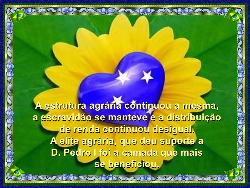 Embora tenha sido de grande valor, esta fato histórico não provocou rupturas sociais no Brasil.