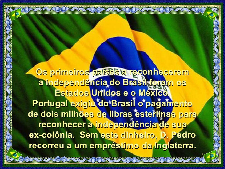 Estas notícias chegaram as mãos de D.Pedro quando este estava em viagem de Santos para São Paulo.