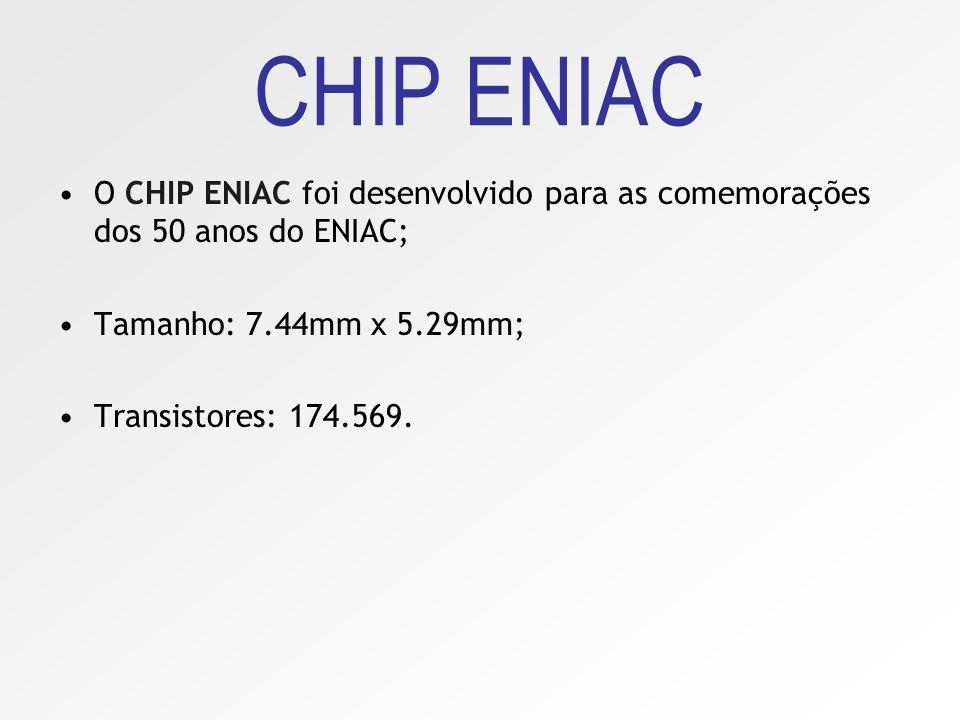 Comemora-se então, na Universidade da Pensylvania, os cinqüenta anos do ENIAC, e para tal foi montado o ENIAC em um chip, com as mesmas funções do ori
