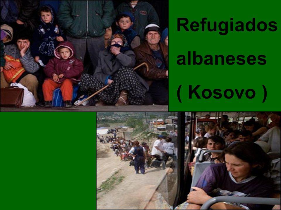 Refugiados albaneses ( Kosovo )