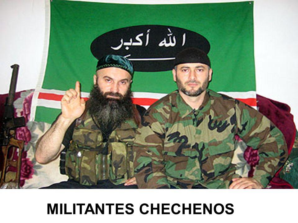 MILITANTES CHECHENOS