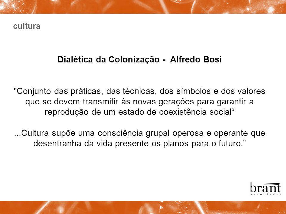 cultura Dialética da Colonização - Alfredo Bosi