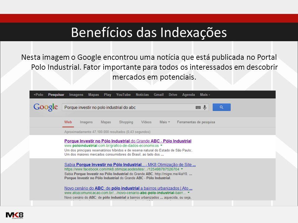 Nesta imagem o Google encontrou uma notícia que está publicada no Portal Polo Industrial.
