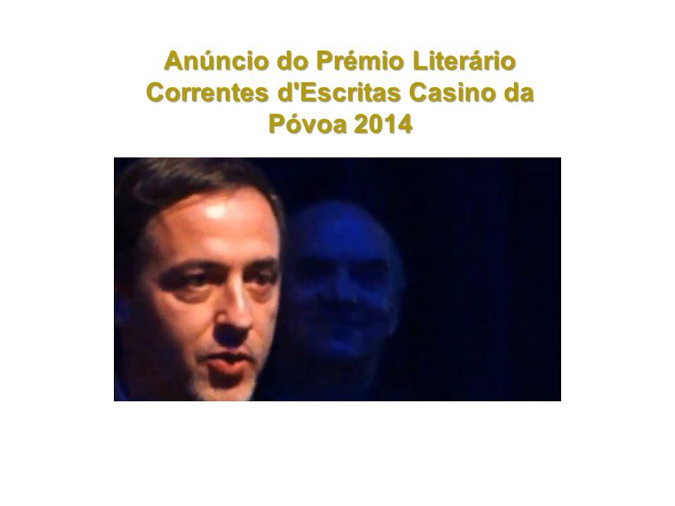 Manuel Jorge Marmelo foi o grande vencedor do Prémio Literário Casino da Póvoa 2014, no valor de 20 mil euros, com o romance «Uma Mentira Mil Vezes Repetida», editado pela Quetzal em 2011.