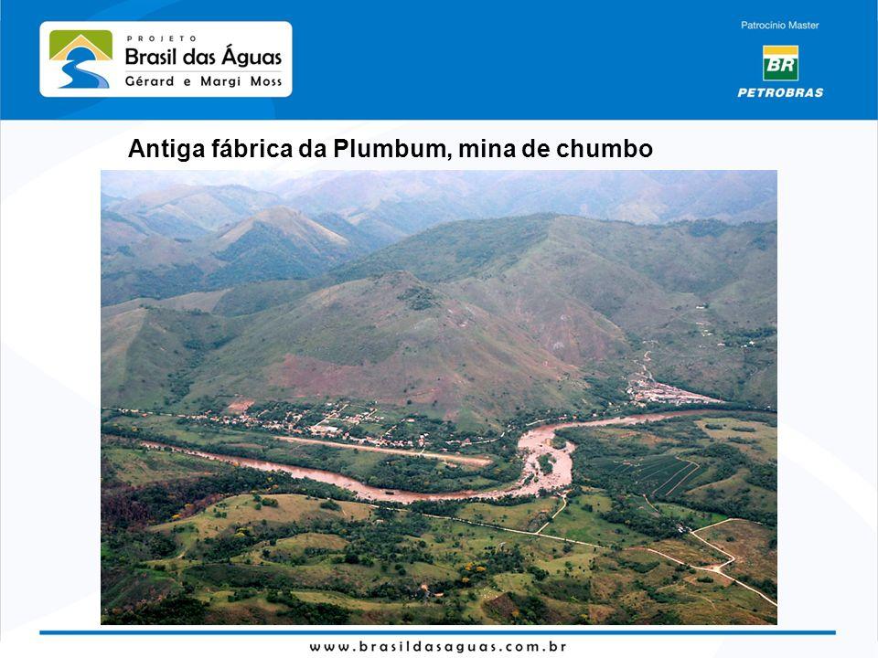 Antiga fábrica da Plumbum, mina de chumbo