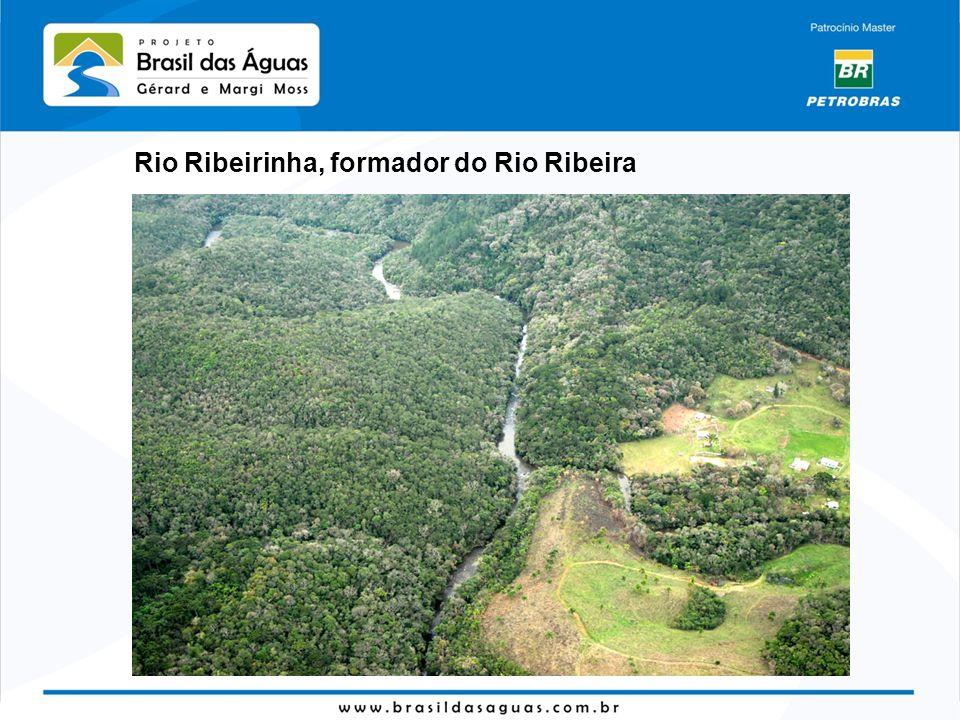Meandro quase fechado – um dia o rio vai cortar caminho, deixando um lago quase circular