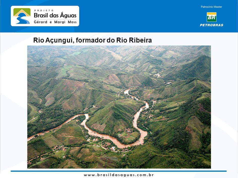 Rio Açungui, formador do Rio Ribeira