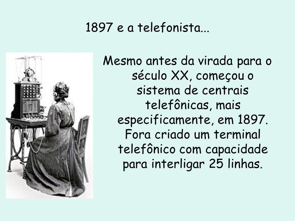 O telefone clássico...