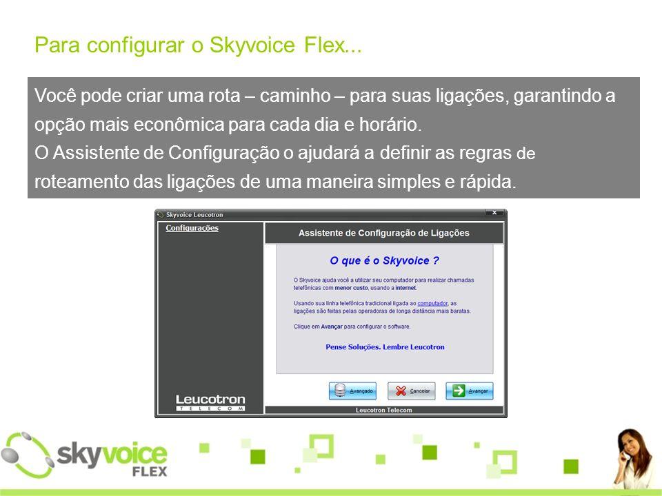 Cadastro ilimitado de contatos Skype.Compatível com as principais Operadoras VoIP.