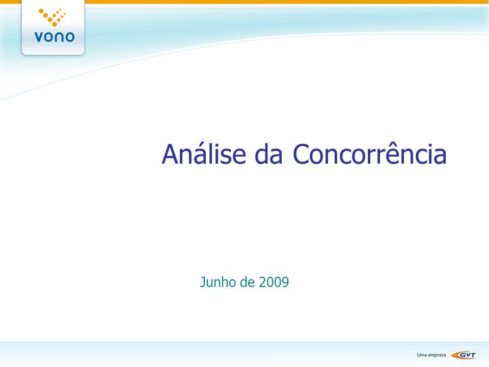 Análise da Concorrência Junho de 2009