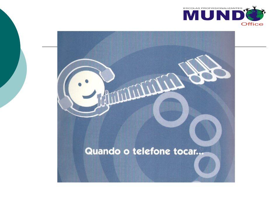Importância do Atendimento Telefônico A IMAGEM DA EMPRESA TAMBÉM ESTÁ NO COMPORTAMENTO DO OPERADOR.