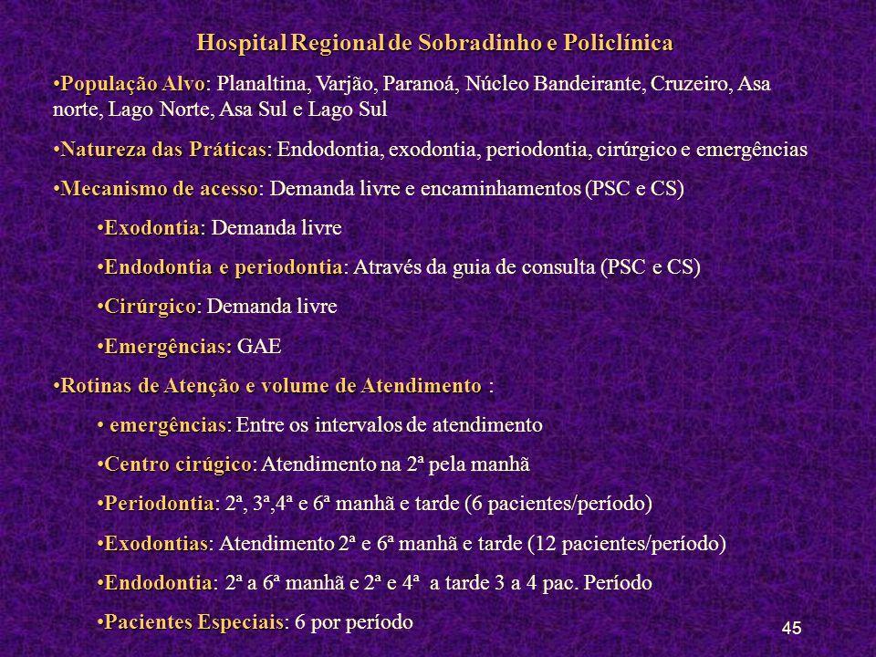 44 Policlínica de Taguatinga