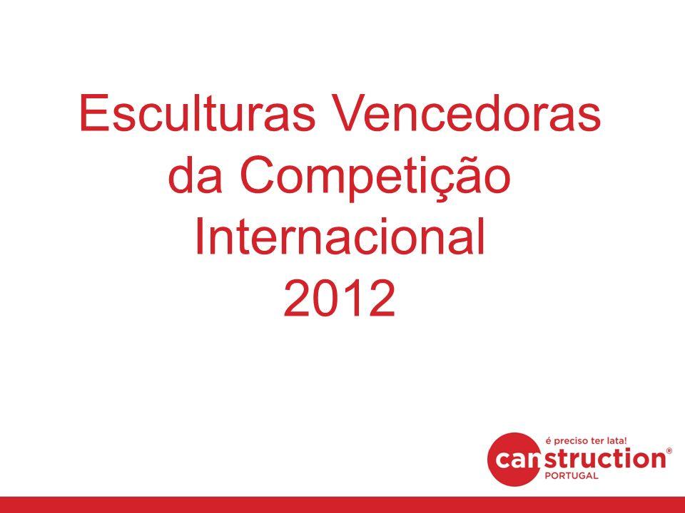 Esculturas Vencedoras da Competição Internacional 2012