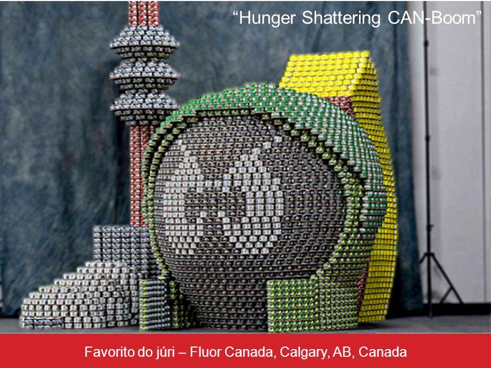 Favorito do júri – Fluor Canada, Calgary, AB, Canada Hunger Shattering CAN-Boom