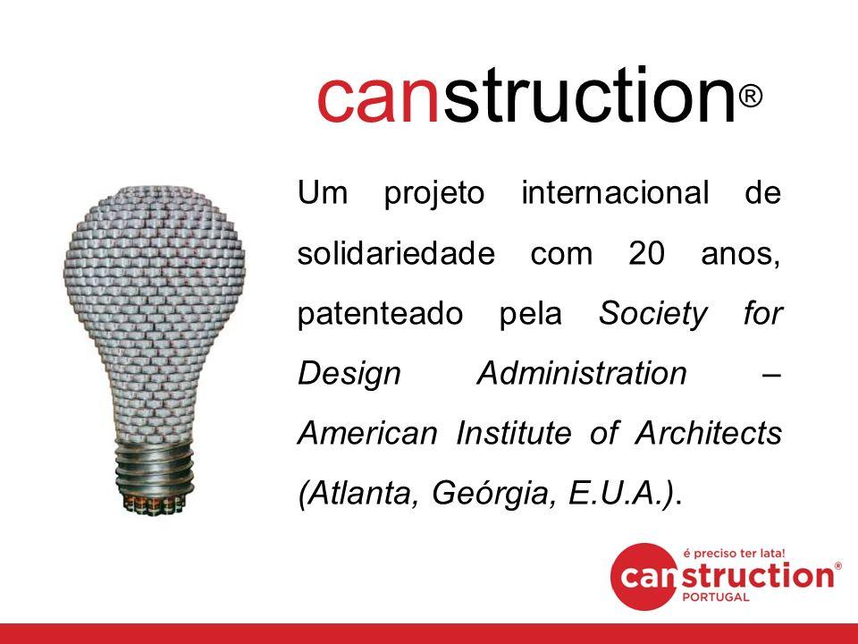 Um projeto internacional de solidariedade com 20 anos, patenteado pela Society for Design Administration – American Institute of Architects (Atlanta,