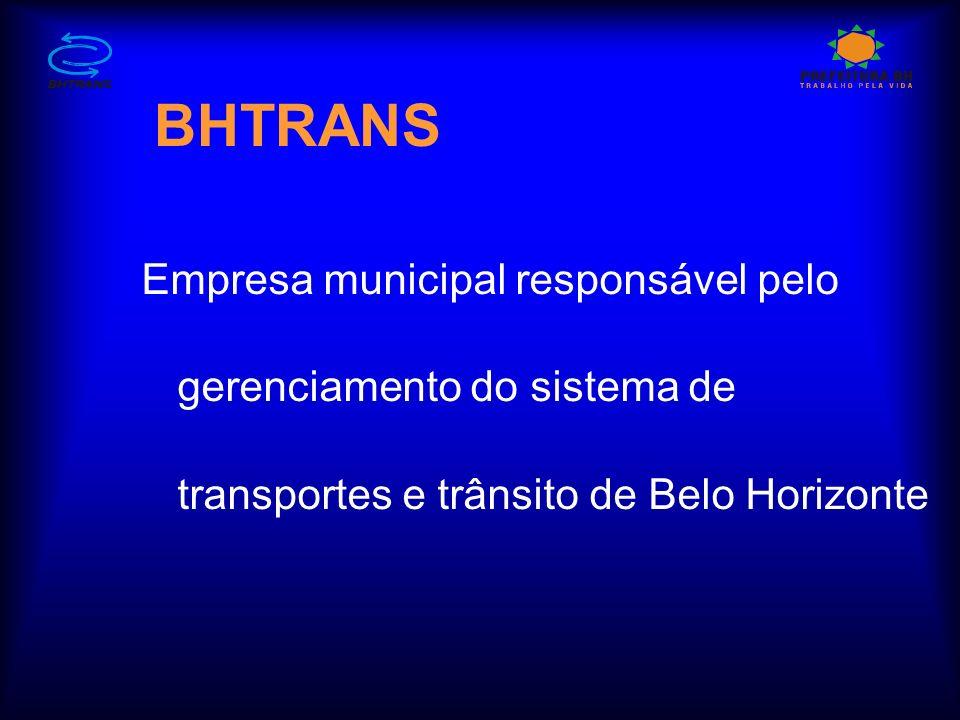 BHTRANS Empresa municipal responsável pelo gerenciamento do sistema de transportes e trânsito de Belo Horizonte